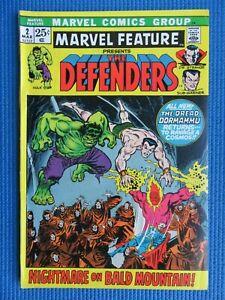 MARVEL FEATURE # 2 - (VF-) -2ND APP OF THE DEFENDERS,DORMAMMU,HULK,DR STRANGE