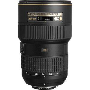 Nikon AF-S NIKKOR 16-35mm F/4 G ED VR Lens