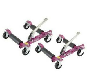 PAIR GOJAK GOJACK 6313 ROLLING TRUCK VEHICLE DOLLIES 6200 lb Auto Dolly SET OF 2