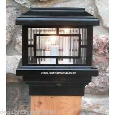 Aurora Orion Deck POST LIGHT, 12V low voltage, 1.6W LED, choose size & color