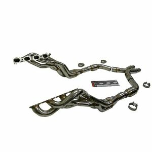 OBX Racing Long Tube Exhaust Catted Header 2011 + Ford Mustang Shelby GT500