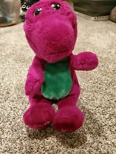 "Vintage Barney Purple Dinosaur Plush Stuffed Animal Lyons Group 1992 14"""