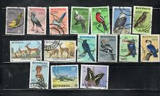 BOTSWANA  STAMPS USED  LOT 19678