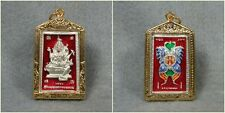 Magic Butterfly Phra Prom Brahma Kruba Krissana Thai Amulet Talisman Pendant #