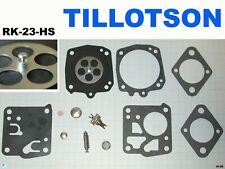 carburatore tillotson RK kit membrane rk23hs motosega mcculloch poulan echo