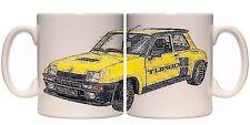 Renault 5 Turbo 11oz ceramic mug  classic Retro Old School 1.9 1.6