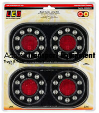 LED Autolamps 209GARLP2 Stop/Tail/Indicator/Licence Plate Lamp Boat Trailer Kit