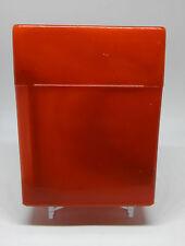 KSI Mega Red Plastic Cigarette Case - Great For RYO Holds 40 Cigarettes!