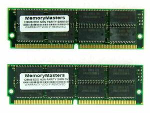 256MB 2X128MB Edo Non Parity 60NS Simm 72-PIN 32X32 For Atari Tt Storm NEW