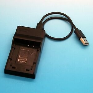 Micro USB Battery Charger For Sony Cyber-Shot DSC-T10 DSC-T11 DSC-T33 Brand New