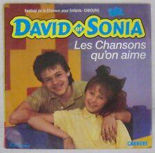 Festival de la chanson pour enfants 45 Tours David et Sonia 1987