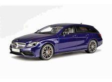 GT-Spirit Mercedes-Benz CLS 63 AMG Shooting Brake Wagon Blue GT040 Scale 1/18