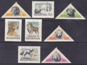 Hungary 1148-55 MNH 1956 Hungarian Dogs Full Set of 9 Very Fine