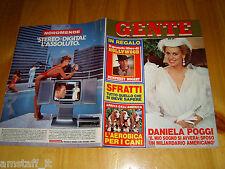 GENTE=1984/50=DANIELA POGGI=COMISO=BARRAFRANCA=ORNELLA MUTI=CARLO RUBBIA=
