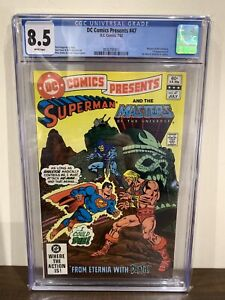 DC COMICS PRESENTS #47 CGC 8.5 1st APPEARANCE OF HE-MAN AND SKELETOR IN COMICS