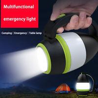 LED Handscheinwerfer Handlampe USB Taschenlampe Camping Suchscheinwerfer 2400mAh