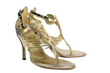 S/S 2005 Rare Vintage Gucci Gold Shoes from the Ad Campaign 38 - 8