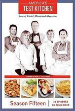 Americas Test Kitchen: Season 15 (DVD, 2015, 4-Disc Set)