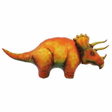 XL 130cm Triceratops Dinosaur Super Shape Mylar Foil Balloon Party