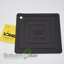 Lodge AS6S11 Silicone Square Pot Holder, Black