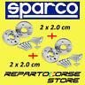 DISTANZIALI SPARCO 20 + 20 mm RENAULT CLIO 3 - III (versione con ruote a 4 fori)