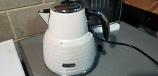 DeLonghi KBZ3001W Scultura 3000w Cordless Jug Kettle - White ##
