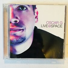 Oscar G ~ Live at Space (2-Disc CD Set, 2003) 26 Tracks, Concert Double Album