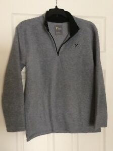 Old Navy Active Boys Gray 1/4 Zip-Up SIze XL (14-16)