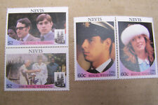 Nevis - 1986, Royal Wedding set Prince Andrew & Fergie - MNH - SG 406/9
