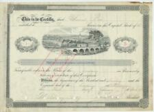 1895 Stock NUMBER 1 Trenton and New Brunswick NJ New Jersey Turnpike Company