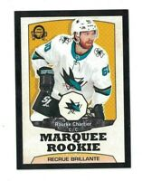 Rourke Chartier 2018-19 Upper Deck Series 2 O PEE CHEE RETRO BLACK Rookie /100