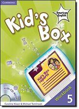 Kid's Box American English Level 5 Workbook with CD-ROM, Tomlinson, Michael, Nix
