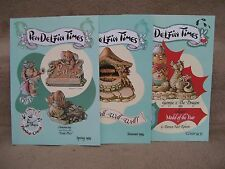 1994 Pendelfin Times 3 Issues from Family Circle George & his Dragon