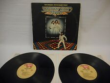 Saturday Night Fever 1977 RSO Soundtrack 2 LP VG Bee Gees Disco