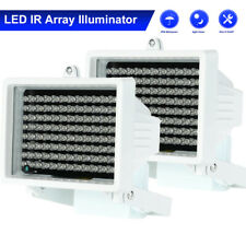 2PCS 96LED IR Illuminator Infrared Lamp Night Vision Light For CCTV Camera W0S3