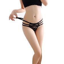 Women G-String Panties Lace Thongs Underwear knickers Lingerie Gift