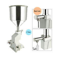 New A02 Pneumatic Liquid Paste Filling Machine for Cream Shampoo Cosmetic 5~50ml