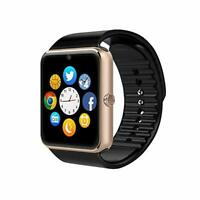 GT08 GOLD Montre Bluetooth GSM SIM Smart WATCH SMARTPHONE WhatsApp appel sms