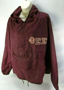 Phi Sigma Sigma VTG Womens Windbreaker Pullover Sorority (Mens Large) Unisex sig