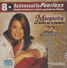 CD - Margarita La Diosa De La Cumbia NEW 22 Boleros De Amor FAST SHIPPING !