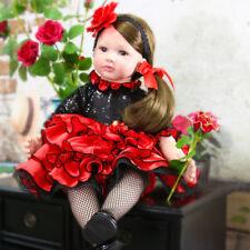 Bébé reborn fille toddler poupée réaliste poupées réalistes bébés Cadeau silicone Toys