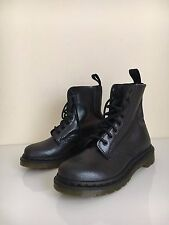 "*NEW* Dr Martens 1460 ""Pascal"" Sz 6 (4) Purple Virginia Black NEW Leather Ankle"