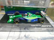 F1 JORDAN Ford J191 GP Belgien #32 Schumacher 7up Fujifilm Tic T Minichamps 1:43