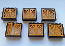 LEGO  6x WINDOWS SHUTTERS