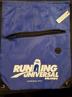 Universal Studios Orlando Running Universal Drawstring Backpack New with Tags