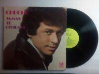 Chucho Avellanet Jamas Te Olvidare UA Latino 113 D VinyL Record LP VG+ LP#0887