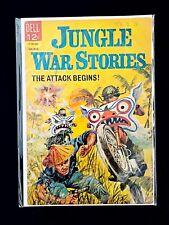 JUNGLE WAR STORIES #10 DELL COMICS 1964 VG/FN