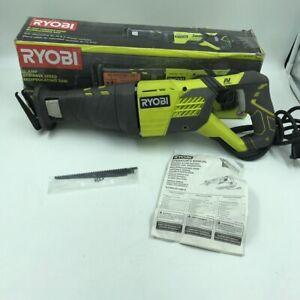 Ryobi RJ1861V 12 Amp Corded Variable Speed Reciprocating Saw