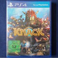 PS4 - Playstation ► Knack ◄ NEU & OVP | dt. Version | sofort Lieferbar