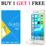 Glass Screen Protector For Apple iPhone 6S Plus - 100% Tempered